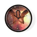 #185 Angel : Wall Clock