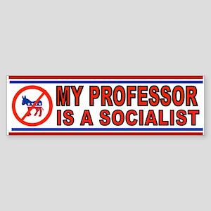 PROFESSOR SOCIALIST_001 Bumper Sticker