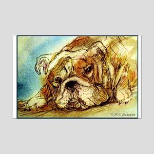 Bulldog! Dog art! Posters