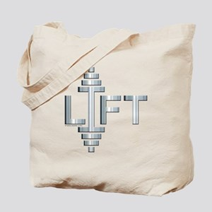 LIFT -- Fit Metal Designs Tote Bag