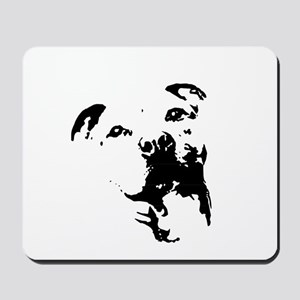 Pitbull Dog Mousepad