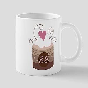 88th Birthday Cupcake Mug