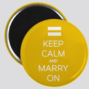 Keep Calm And Marry On Magnet