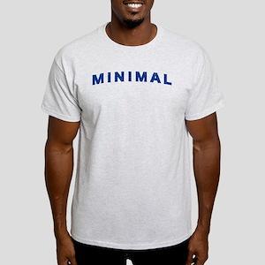 Minimal Damaged Blue Light T-Shirt