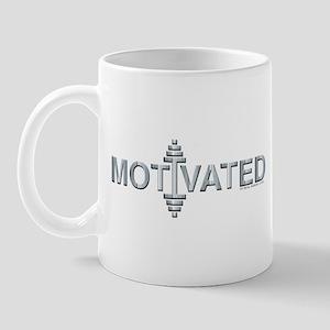MOTIVATED -- Fit Metal Designs Mug