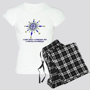 compass and willing accomplice-1-1 Pajamas