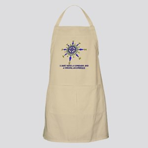 compass and willing accomplice-1-1 Apron