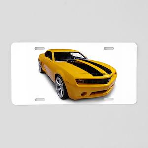 Sports car Aluminum License Plate