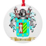 Blanco Round Ornament