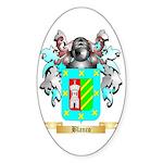 Blanco Sticker (Oval)