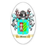 Blanco Sticker (Oval 50 pk)