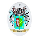 Blanco Ornament (Oval)