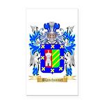 Blanchonnet Rectangle Car Magnet