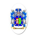 Blanchonnet 20x12 Oval Wall Decal