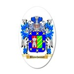 Blanchonnet 35x21 Oval Wall Decal