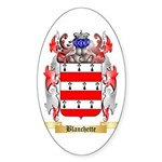 Blanchette Sticker (Oval)