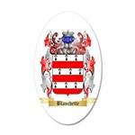Blanchette 20x12 Oval Wall Decal