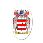 Blanchette 35x21 Oval Wall Decal
