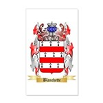 Blanchette 35x21 Wall Decal