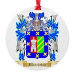 Blancheton Round Ornament