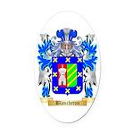 Blancheton Oval Car Magnet