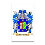 Blancheton Rectangle Car Magnet