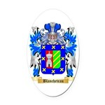 Blancheteau Oval Car Magnet