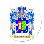 Blancheteau Round Car Magnet