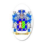 Blancheteau 35x21 Oval Wall Decal