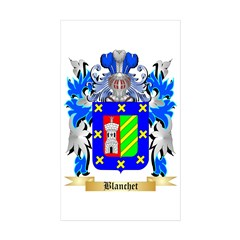 Blanchet Sticker (Rectangle 10 pk)