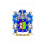 Blanchet Sticker (Rectangle 50 pk)