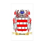 Blanche Sticker (Rectangle 50 pk)