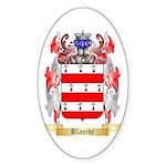 Blanche Sticker (Oval)