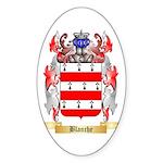 Blanche Sticker (Oval 10 pk)