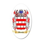 Blanche 35x21 Oval Wall Decal