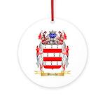 Blanche Ornament (Round)
