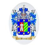 Blanca Ornament (Oval)