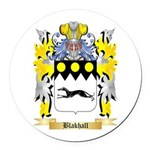 Blakhall Round Car Magnet