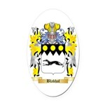Blakhal Oval Car Magnet