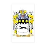 Blakhal Sticker (Rectangle 50 pk)