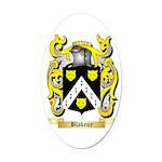 Blakeny Oval Car Magnet