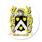 Blakeney Round Car Magnet