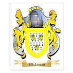 Blakeman Small Poster