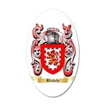 Blakely 20x12 Oval Wall Decal