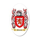 Blakely 35x21 Oval Wall Decal