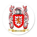 Blakeley Round Car Magnet
