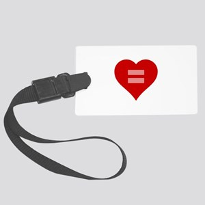 Marriage Equality Heart Luggage Tag