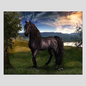 Freisian Horse Posters