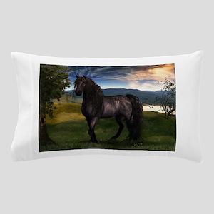 Freisian Horse Pillow Case