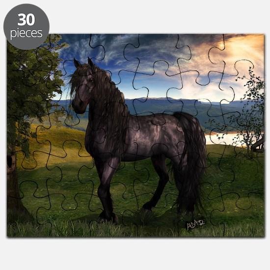 Freisian Horse Puzzle